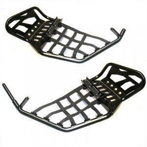Nerfs bars XRW Pro pegs R1 BLACK : CAN AM RENEGADE CHASSIS G1 (2008 à 2011)