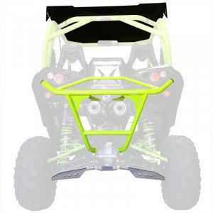 BUMPER ARRIERE BR11 VERT CAN-AM MAVERICK X DS TURBO