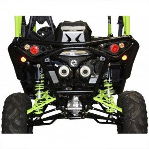 BUMPER ARRIERE BR12 NOIR CAN-AM MAVERICK X DS TURBO