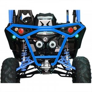 BUMPER ARRIERE BR12 BLEU CAN-AM MAVERICK X DS TURBO