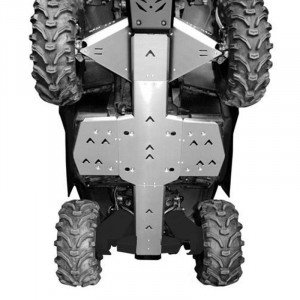 PROTECTION INTÉGRALE XRW ALU : OUTLANDER 500/650/800/850/1000 MAXX CHASSIS G2
